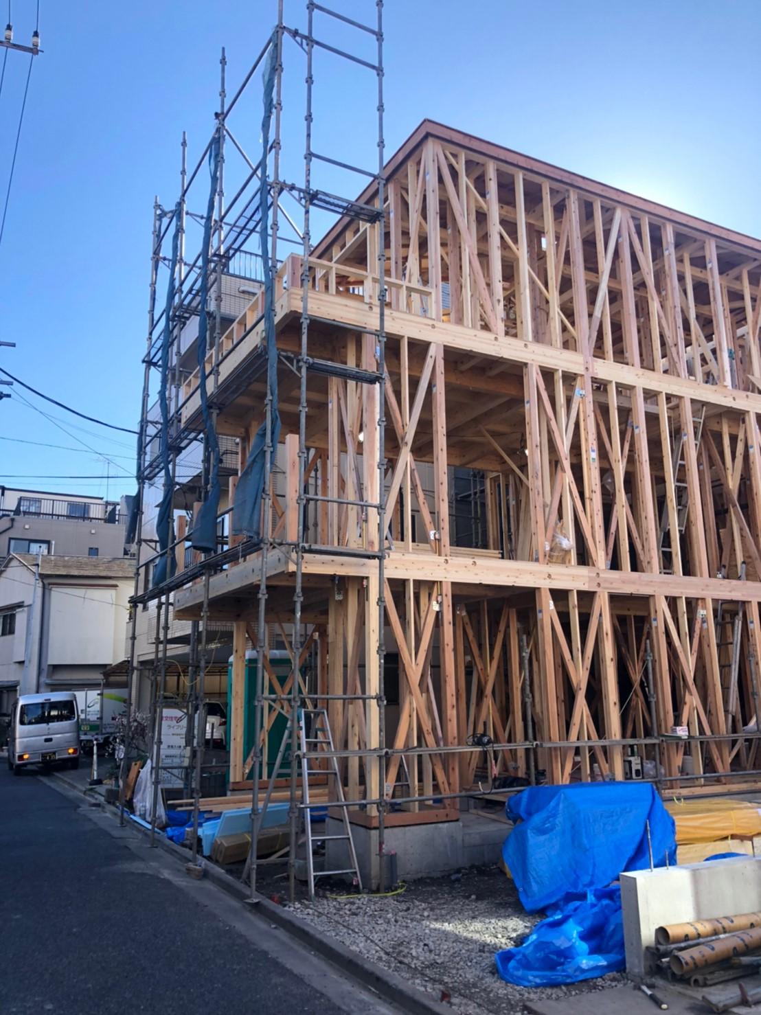 【売主】新築一戸建て   田端4棟